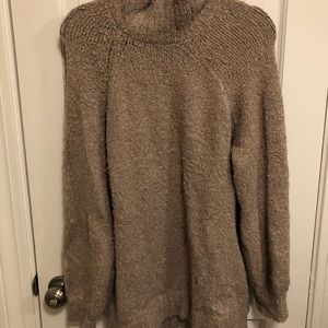 Aerie oversized turtle neck sweater